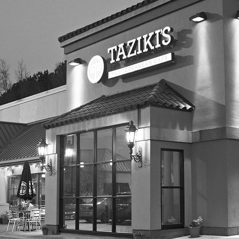 Taziki's Mediterranean Café: Colonnade